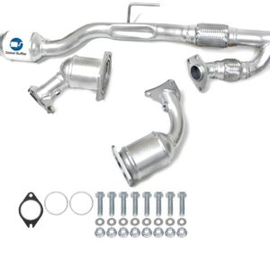 Fits 2009 To 2014 Nissan Murano 3.5L V6 Catalytic Converter Set With Flex Y Pipe